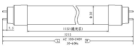 led日光灯-【厂家直销】t10