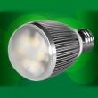 6W铝壳体LED球泡灯